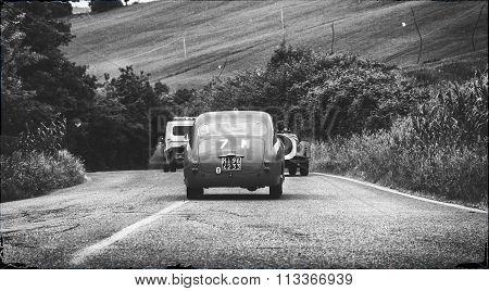 FIAT 1100 103 TV Coupé Vignale 1954 mille miglia 2015