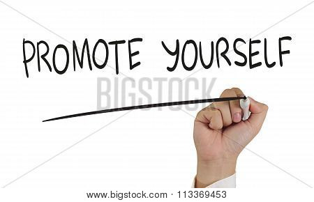 Promote Yourself, Concept Typography