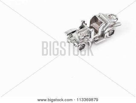 Metal Model Of The Ancient Car