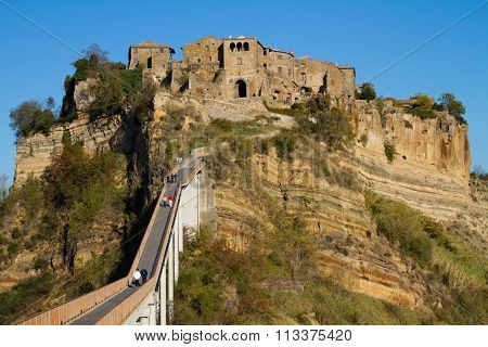 Civita of Bagnoregio in Italy