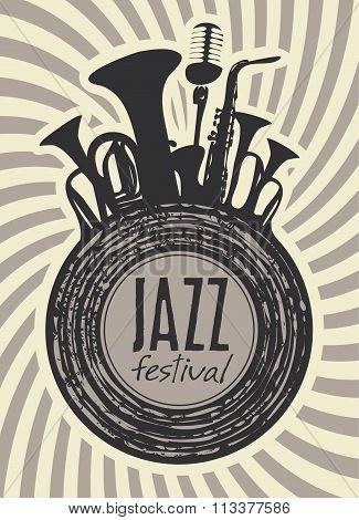 Banner For Jazz Festival