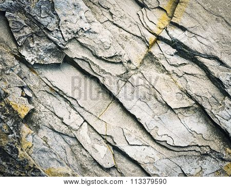 Eroded Limestone Stone Block