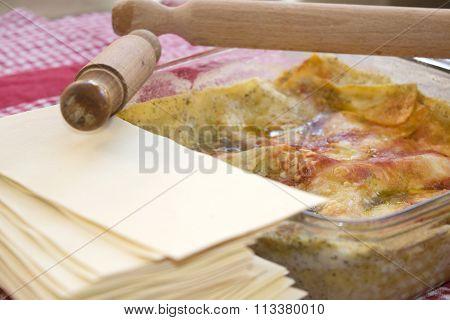 Lasagne With Genoese Pesto