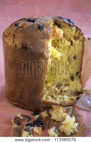 Panettone Of Milan With Candied Fruit