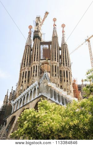BARCELONA, SPAIN - JULY 11