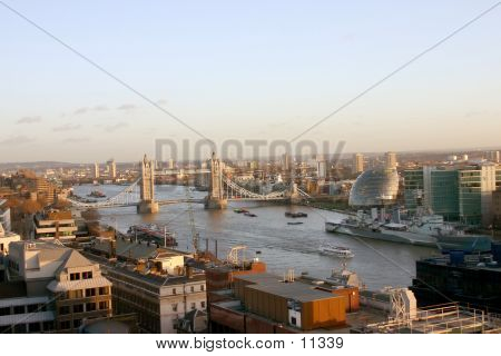 River Thames Skyline