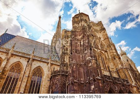 St. Stephen's Cathedral(stephansdom) The Mother Church Of The Roman Catholic Archdiocese Of Vienna A