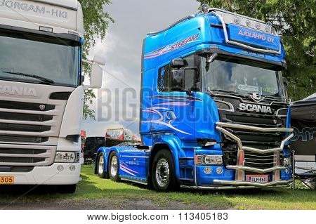Scania Blue Stream Limited Edition Truck