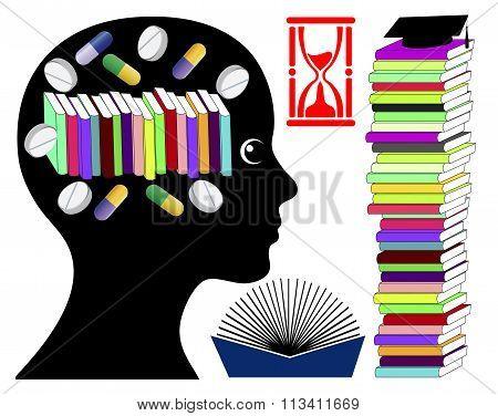 Student Taking Brain Enhancing Drugs