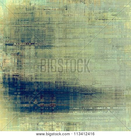 Abstract rough grunge background, colorful texture. With different color patterns: yellow (beige); blue; gray; cyan