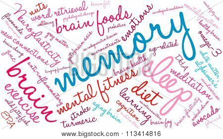 Memory Word Cloud