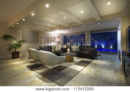 Luxurious Living Room