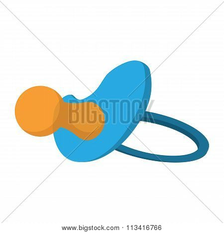 Baby Pacifier cartoon icon
