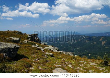 View from the mountain Geierkogel