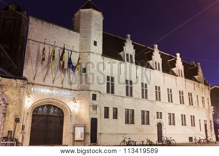 Palace Of Margaret Of York In Mechelen, Belgium