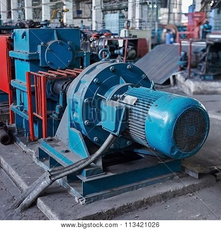 Electric Actuator For Industrial Mill