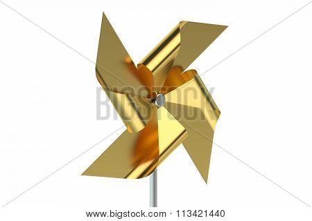 Golden Pinwheel