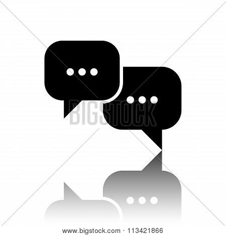 Speech bubles icon