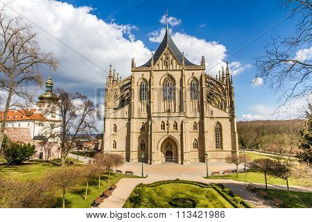 St.barbara's Church (cathedral) In Kutna Hora