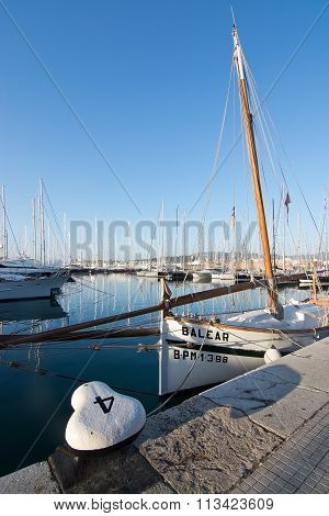 Marina With Boats