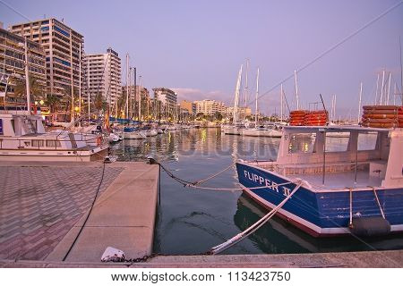 Palma Marina Boats Moored