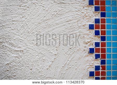 Background Rough Plaster Walls