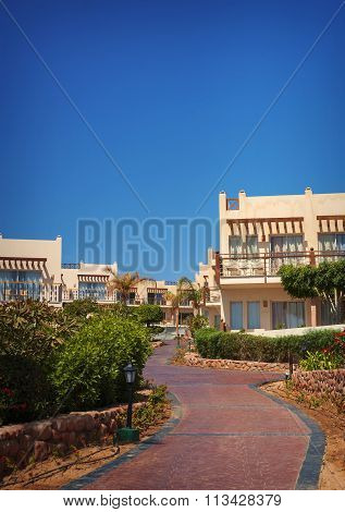 Sharm El Sheikh , Egypt , March 1, 2013: Hotel building Concorde El Salam Hotel