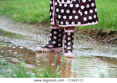 Rainboots And Mud Puddles