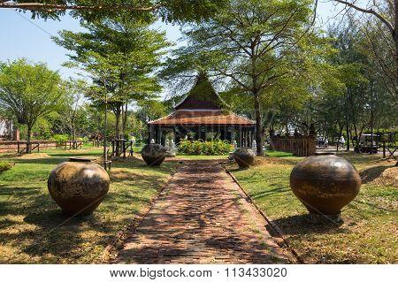 Pavilion In Mueang Boran