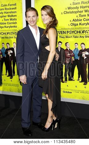 LOS ANGELES, CALIFORNIA - October 1, 2012. James Hebert at the Los Angeles premiere of 'Seven Psychopaths' held at the Mann Bruin Theatre, Los Angeles.