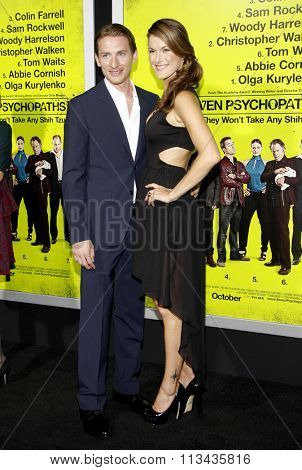 James Hebert and Abigail Carpenter at the Los Angeles premiere of