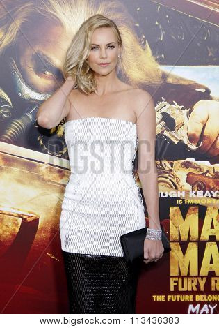 Charlize Theron at the Los Angeles premiere of