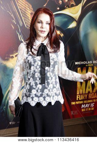 Priscilla Presley at the Los Angeles premiere of