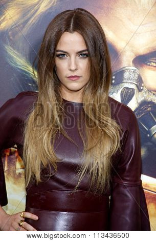 Riley Keough at the Los Angeles premiere of