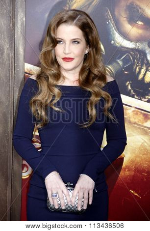 Lisa Marie Presley at the Los Angeles premiere of