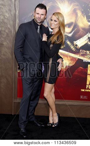 Steve Dunlevy and Ellen Hollman at the Los Angeles premiere of