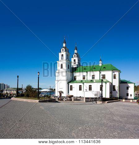 Holy Spirit Cathedral in Minsk, Belarus