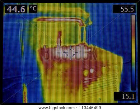 Central Heating Furnace Infrared Inspection