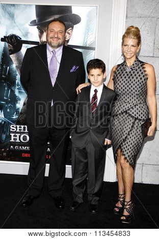 WESTWOOD, CALIFORNIA - December 6, 2011. Joel Silver at the Los Angeles premiere of