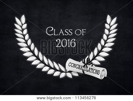 silver laurel and diploma for 2016