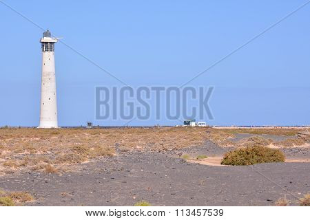 Old Lighthouse near the Sea