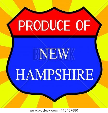 Produce Of New Hampshire