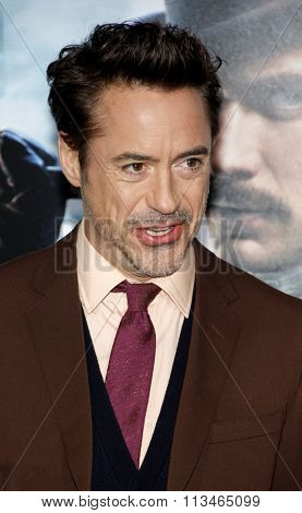 Robert Downey Jr. at the Los Angeles Premiere of