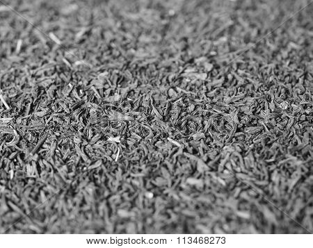 Black And White Loose Tea Background