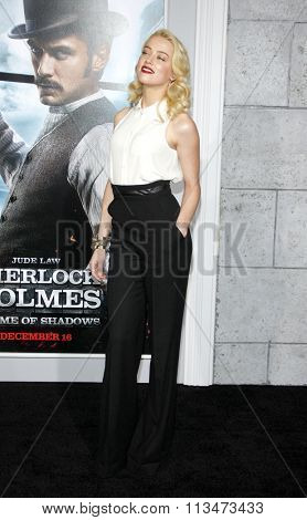 Amber Heard at the Los Angeles Premiere of