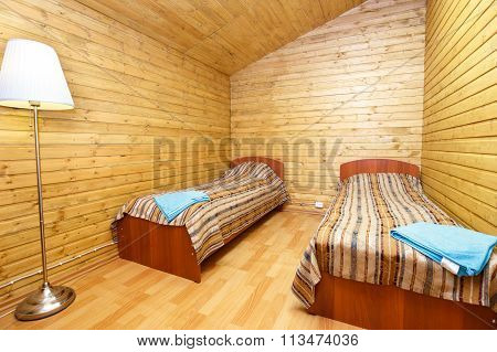 Double Room With Separate Beds In Motel