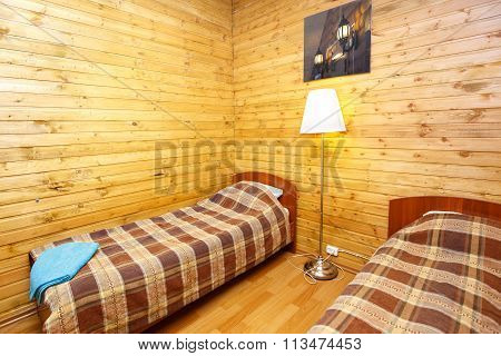 Interior Of Double Room In Country Hotel