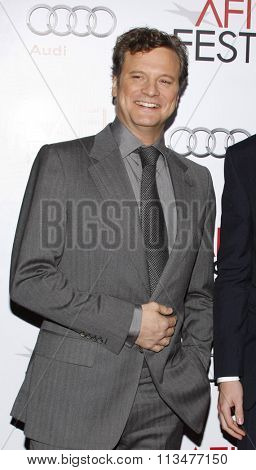 Colin Firth at the AFI FEST 2009 Screening of