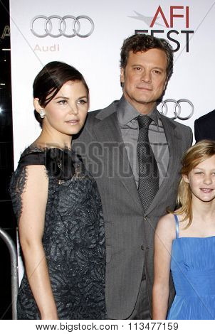 Ginnifer Goodwin and Colin Firth at the AFI FEST 2009 Screening of