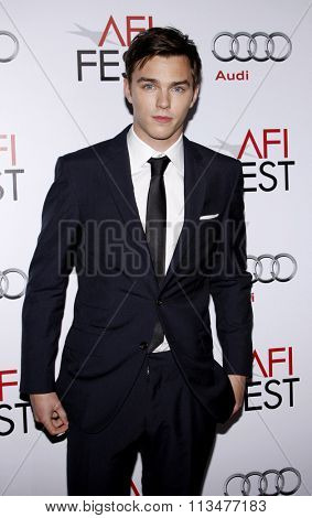 HOLLYWOOD, CALIFORNIA - November 5, 2009. Nicholas Hoult at the AFI FEST 2009 Screening of